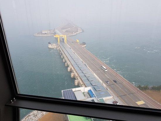 Ansan, South Korea: 전망대에서 내려본 풍경