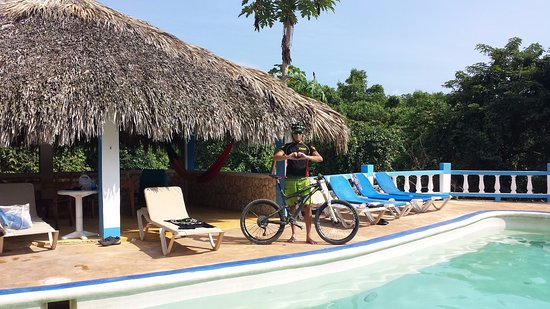 Little Bay, Jamaica: Zion Mountain Bike Adventures guide....Ras Madmon