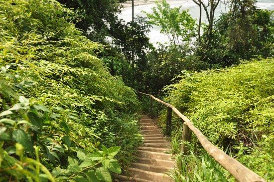 Escada para mirante de Castelhanos
