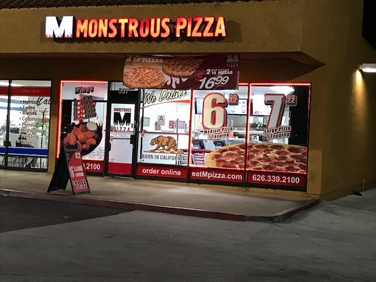 monstrous pizza covina restaurant reviews photos reservations tripadvisor. Black Bedroom Furniture Sets. Home Design Ideas
