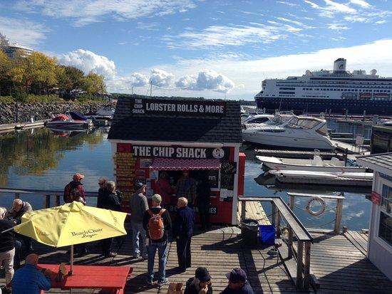 The Chip Shack : Situé dans une marina