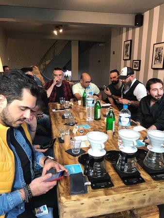 Foyer Espresso Bar: Coffee event