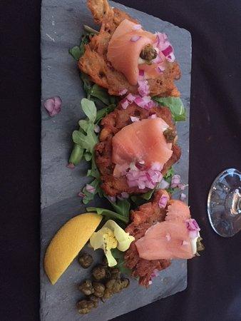 Tusket, Канада: Smoked salmon appy.
