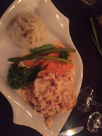 Tusket, Канада: seafood medley with veg.