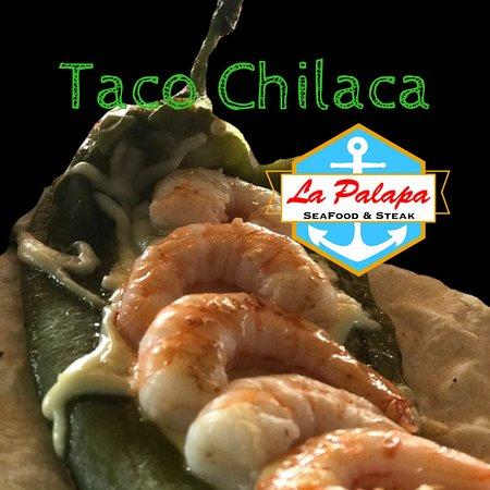 Casas Grandes, Mexico: taco chilaca