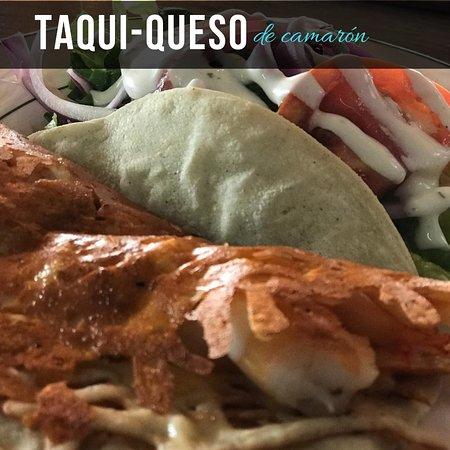 Casas Grandes, Mexico: taqui-queso de camarón