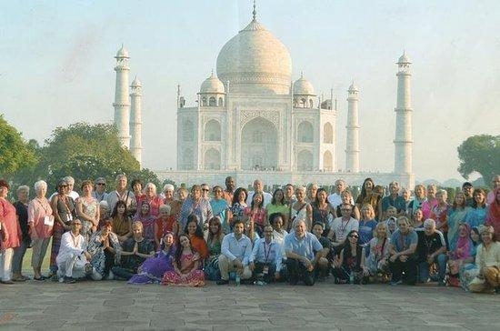 Taj Mahal tur fra Delhi av privat bil