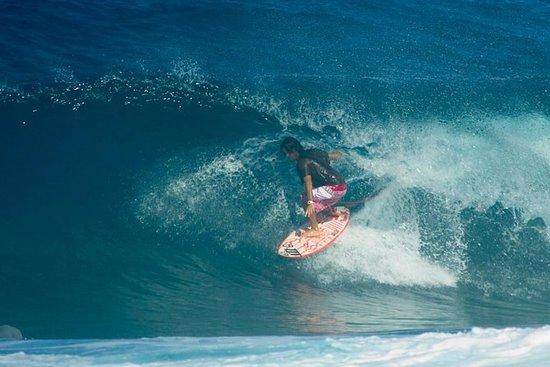 Sortie surf d'une demi-journée avec...