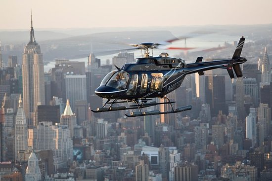 Excursão de Helicóptero em Nova York...