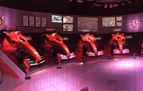 Ferrari Museum in Maranello with...