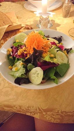 Restaurant Brach: salade mixte