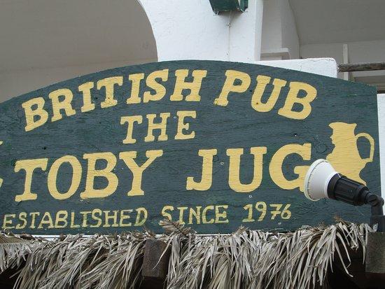 Toby Jug: Sign