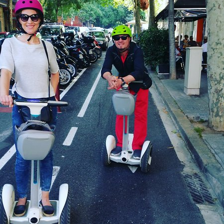 Barcelona Segway Trip