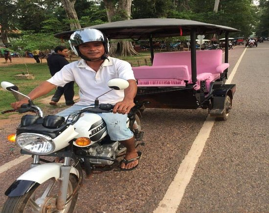 Chalky Siem Reap Private Driver
