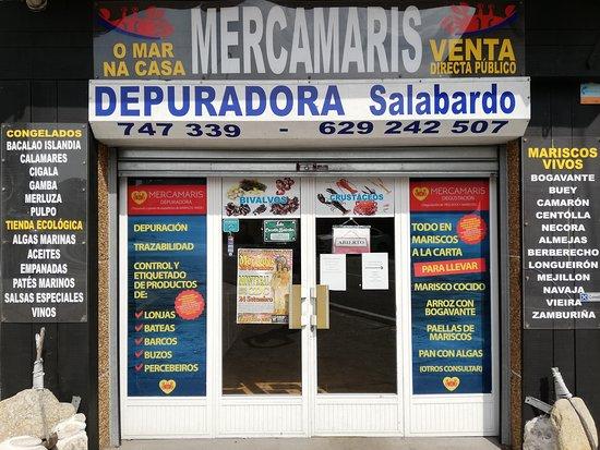 imagen Degustación de marisco MercaMaris en Corcubión
