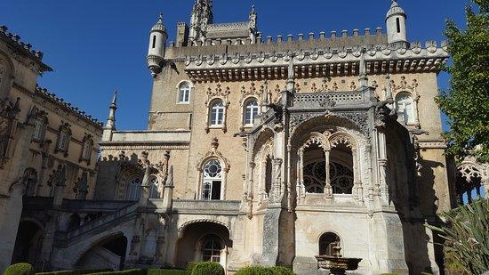 Bussaco, Portugal: Pormenores de fachada