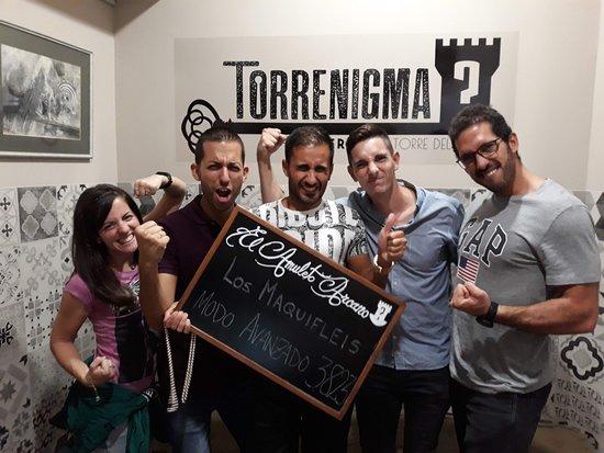 Torrenigma Escape Room Photo