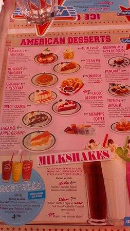 Carte Des Desserts Picture Of Memphis Coffee Blagnac Tripadvisor