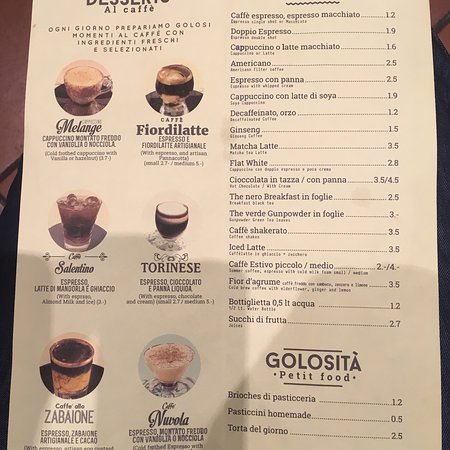 A benchmark for coffee, the speciality menu is superb