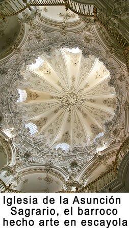 Cosas de Priego Souvenir: el sagrario de la Iglesia de ala Asunción, impresionante