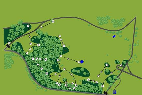 Ashton Court Disc Golf Course Advanced Course
