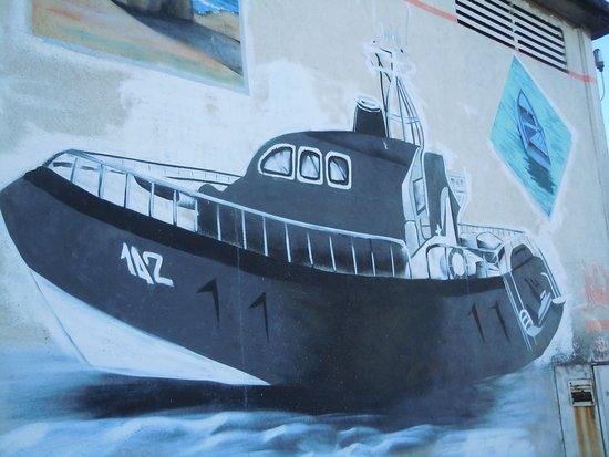 Fresque Secours en Mer