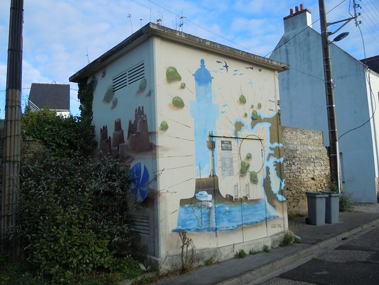Fresque Port Haliguen