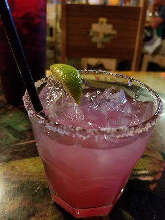 Starlight Theatre: Prickly Pear margarita. Sweet and refreshing!