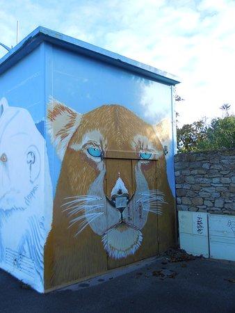 Quiberon, Francia: Détail de la fresque