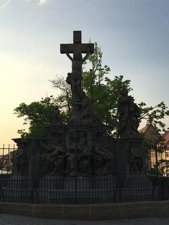 Barocke Kreuzigungsgruppe