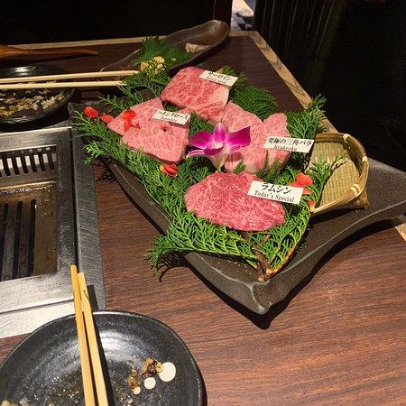 Matsusakagyu Yakiniku M, Hozenji Yokocho Photo