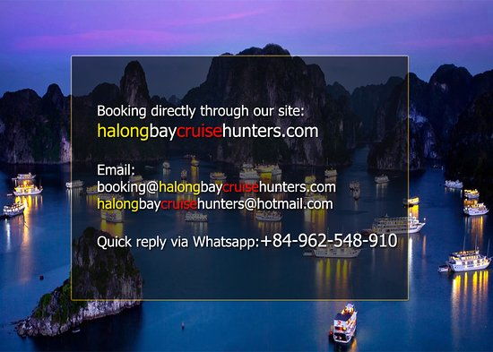 Halong Bay Cruise Hunters