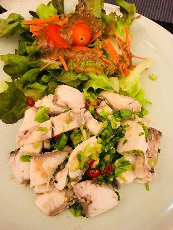 Yam Pla, spicy fish salad