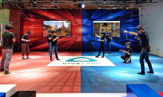 Viveland VR實境樂園 @ 大魯閣草衙道