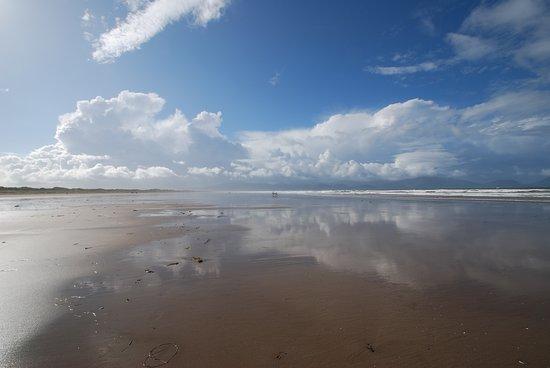 Il cielo d'Irlanda, spiaggia di Inch.