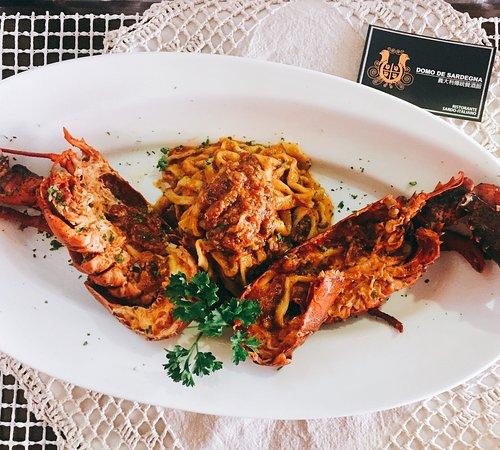 Domo De Sardegna - Typical Sardinia Italian Restaurant: Special order by customers