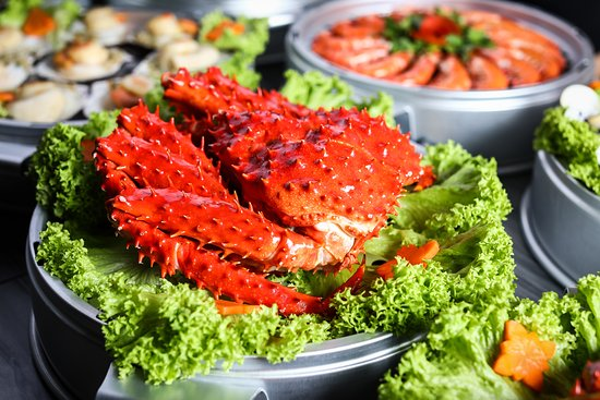 Captain K Seafood Tower: Chilean King Crab