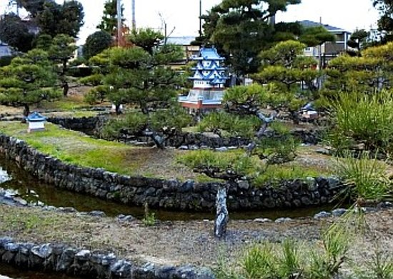 Fujieda, Japon : ジオラマ拡大