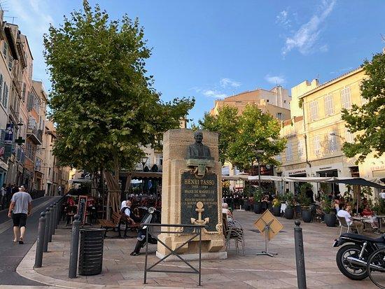 Statue Henri Tasso