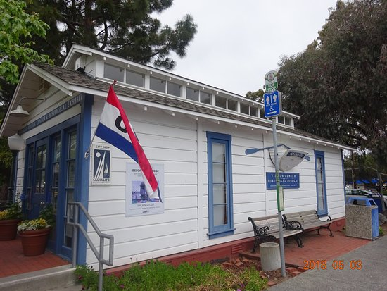 Sausalito Ice House Visitors Center
