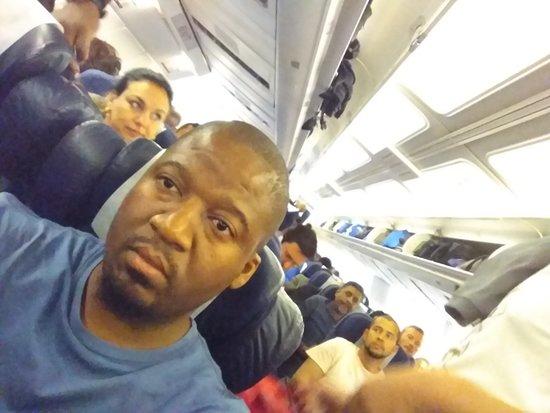 South African Airways: Cabin crew prepare for landing