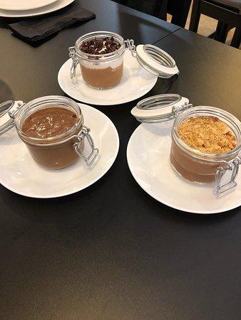 Mousses de Chocolate