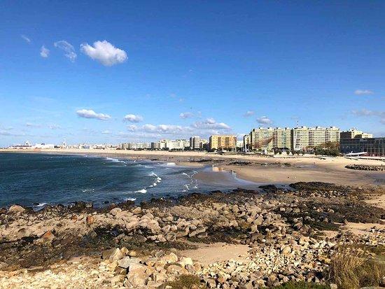 Praia do Castelo do Queijo: Spiaggia