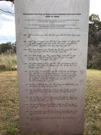 Bengworden, Austrália: Ramahyuck Cemetary