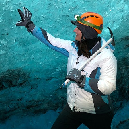 Ice Cave Tour in the National Park of