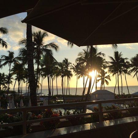 Beautiful tropical surroundings at this resort.