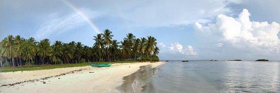 Passikudah Beach: Rainbow in Passikudah beach