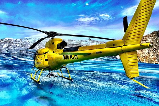 Tour de helicóptero em Juneau e...