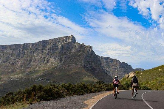 Visite de la péninsule du Cap à vélo...