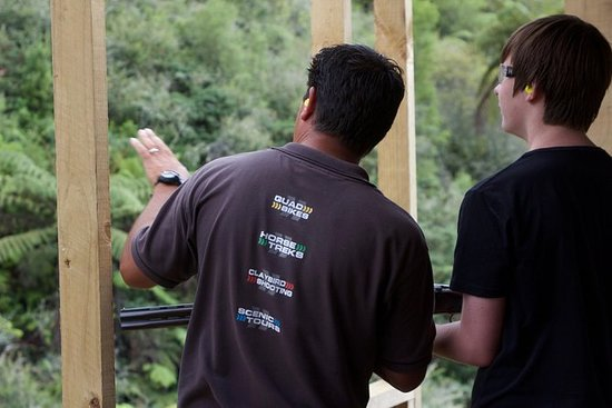 Claybird Shooting aus Rotorua